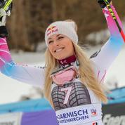 Lindsay Vonn double vainqueur en descente à Garmisch-Partenkirchen