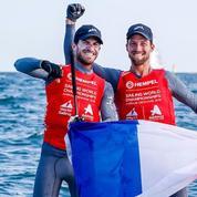 Péponnet et Mion champions du monde 470