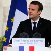 Macron : «Le martyre du père Hamel n'aura pas eu lieu pour rien»