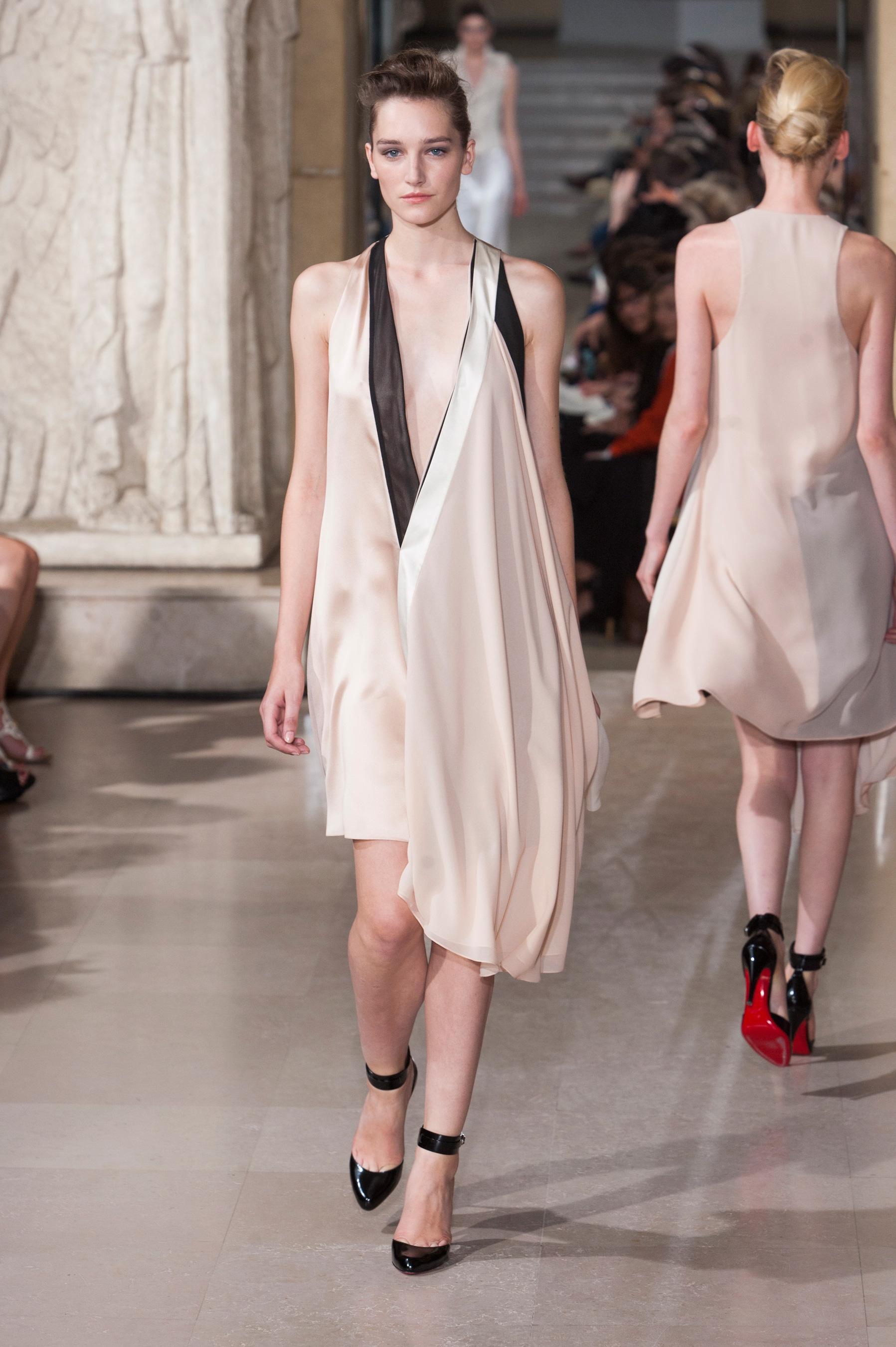 D fil bouchra jarrar automne hiver 2013 2014 couture for 1900 haute couture