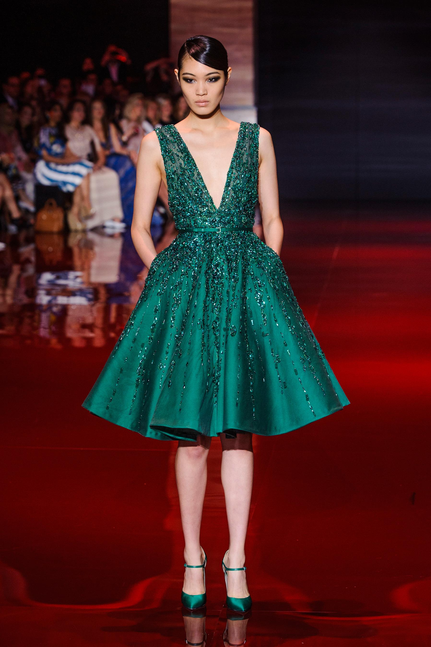 Robes de mode robes de soiree elie saab 2014 for Robes de mariage ellie saab