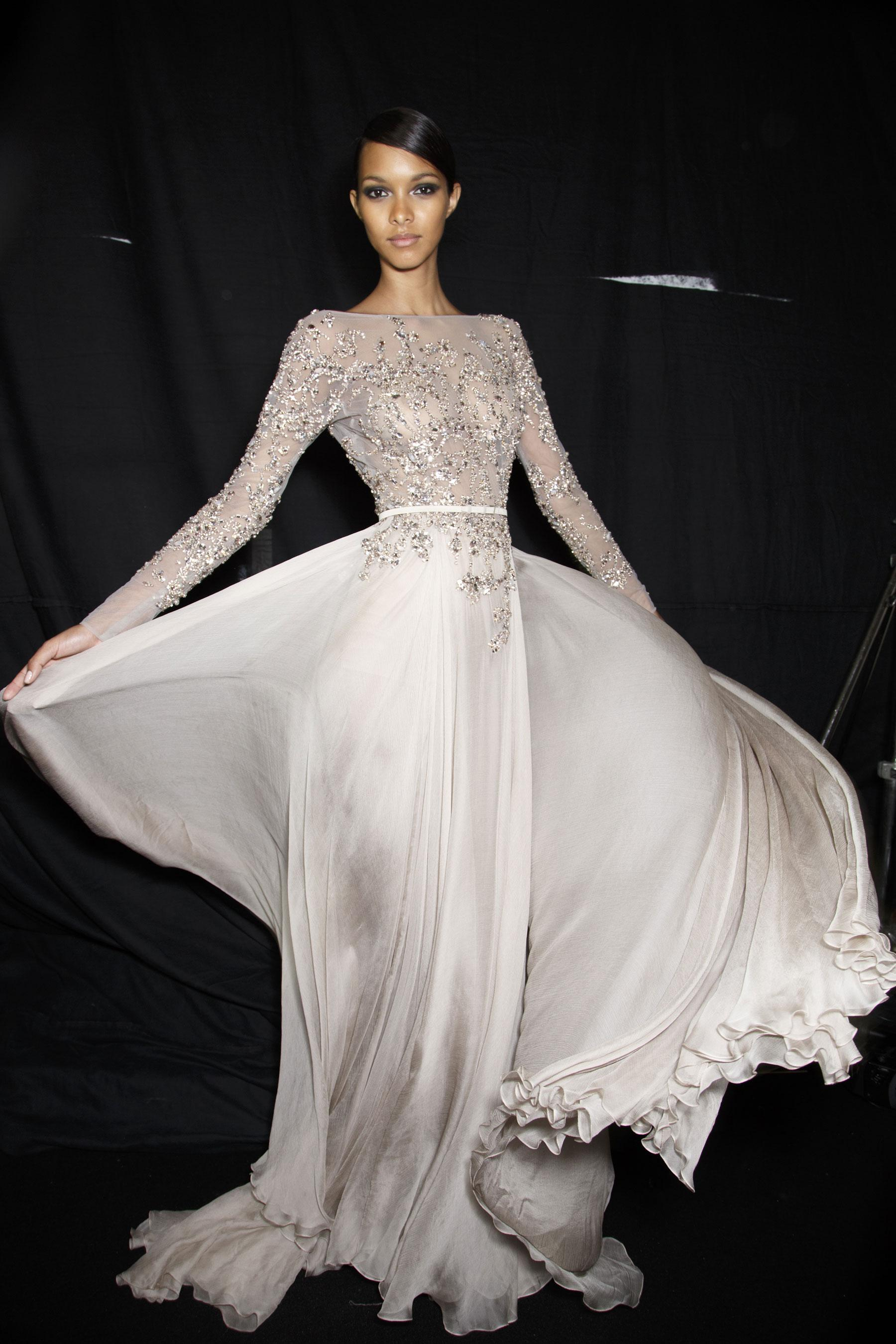 D fil elie saab automne hiver 2013 2014 couture madame for 1900 haute couture