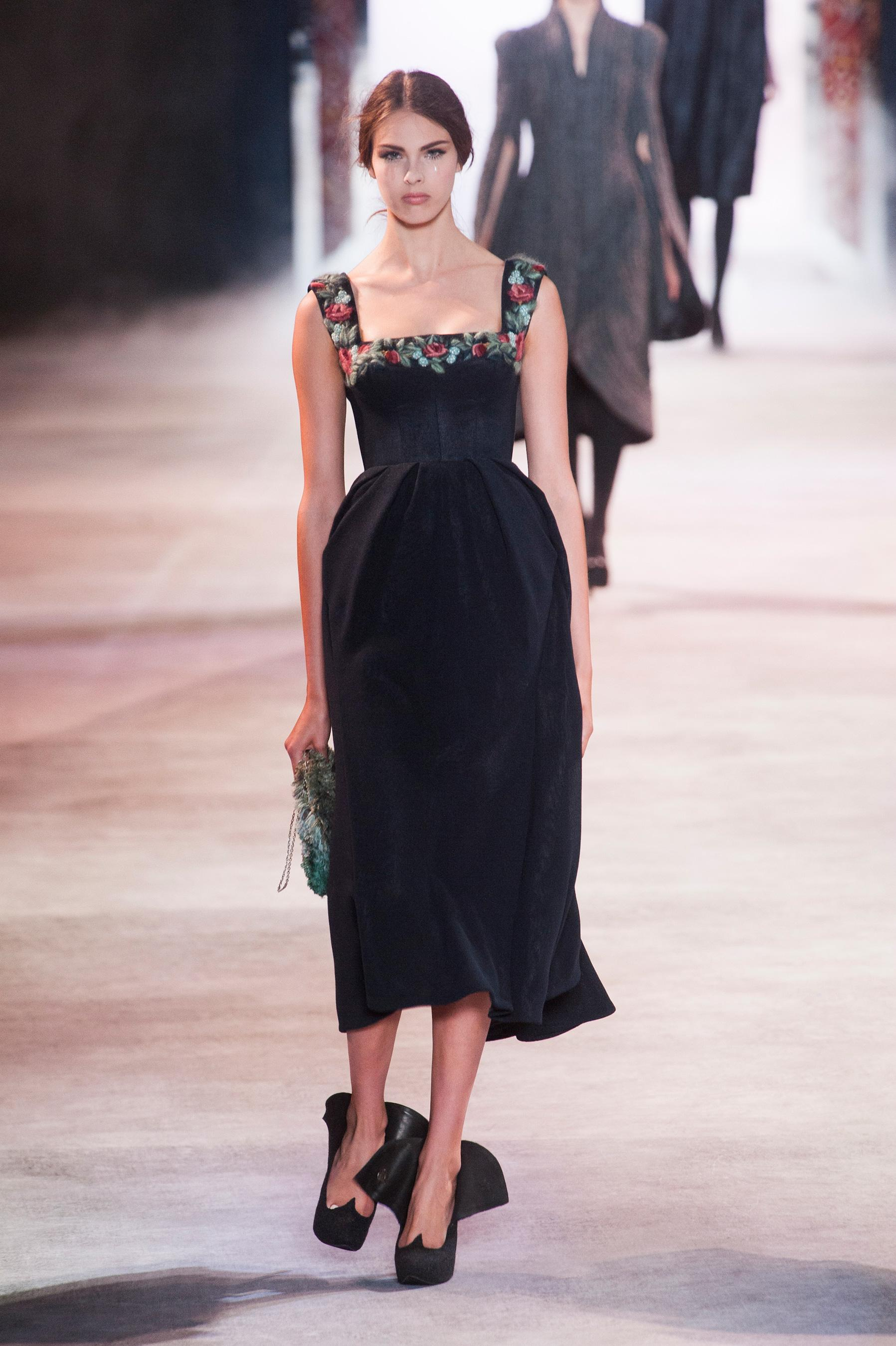 D fil ulyana sergeenko automne hiver 2013 2014 couture for 1900 haute couture
