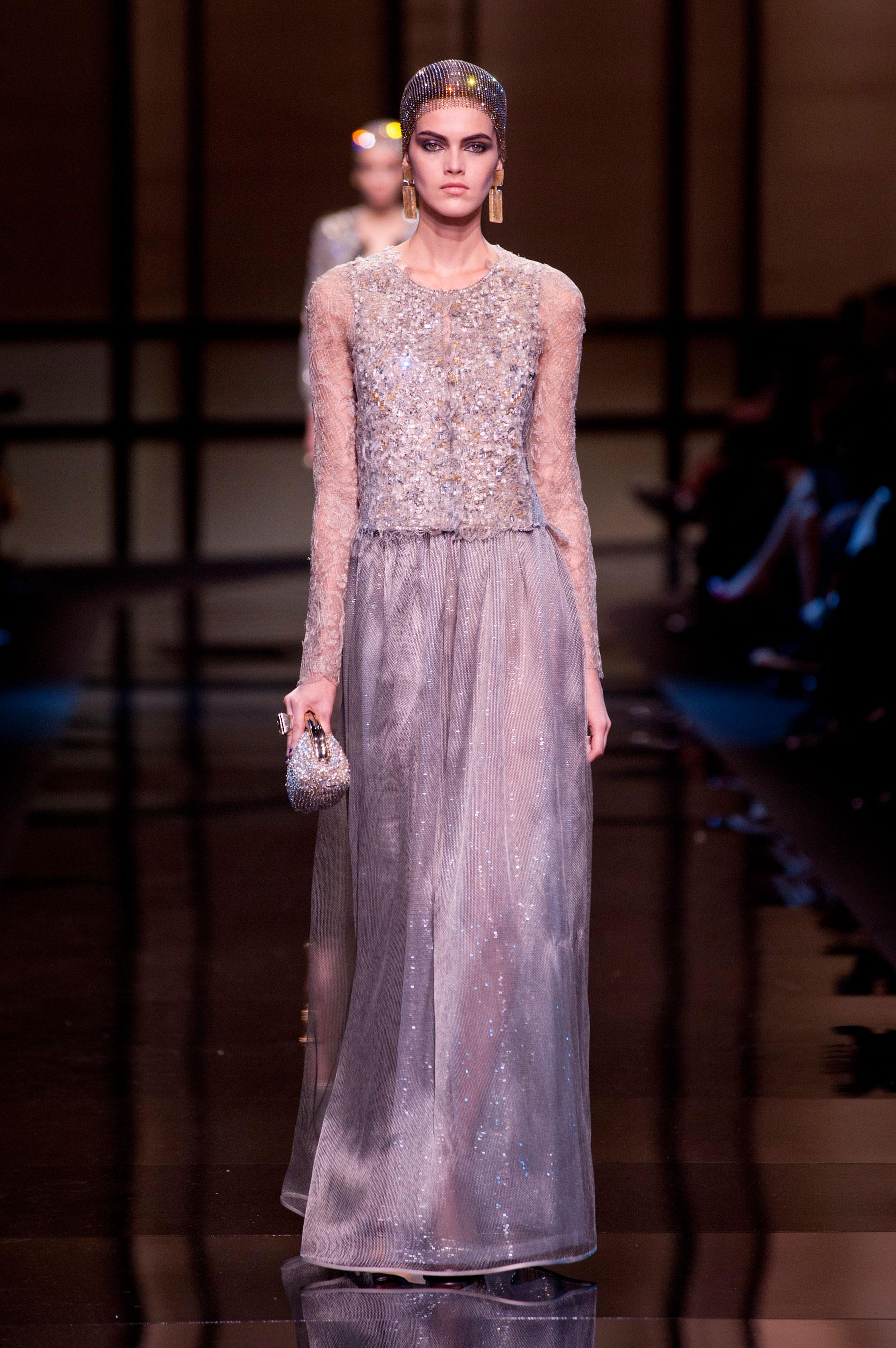 D fil giorgio armani priv printemps t 2014 haute for 1900 haute couture