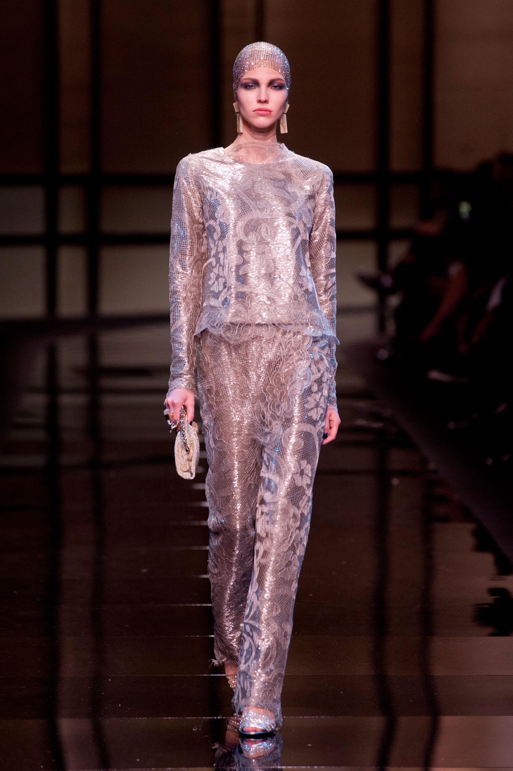 D fil giorgio armani priv printemps t 2014 couture for 1900 haute couture