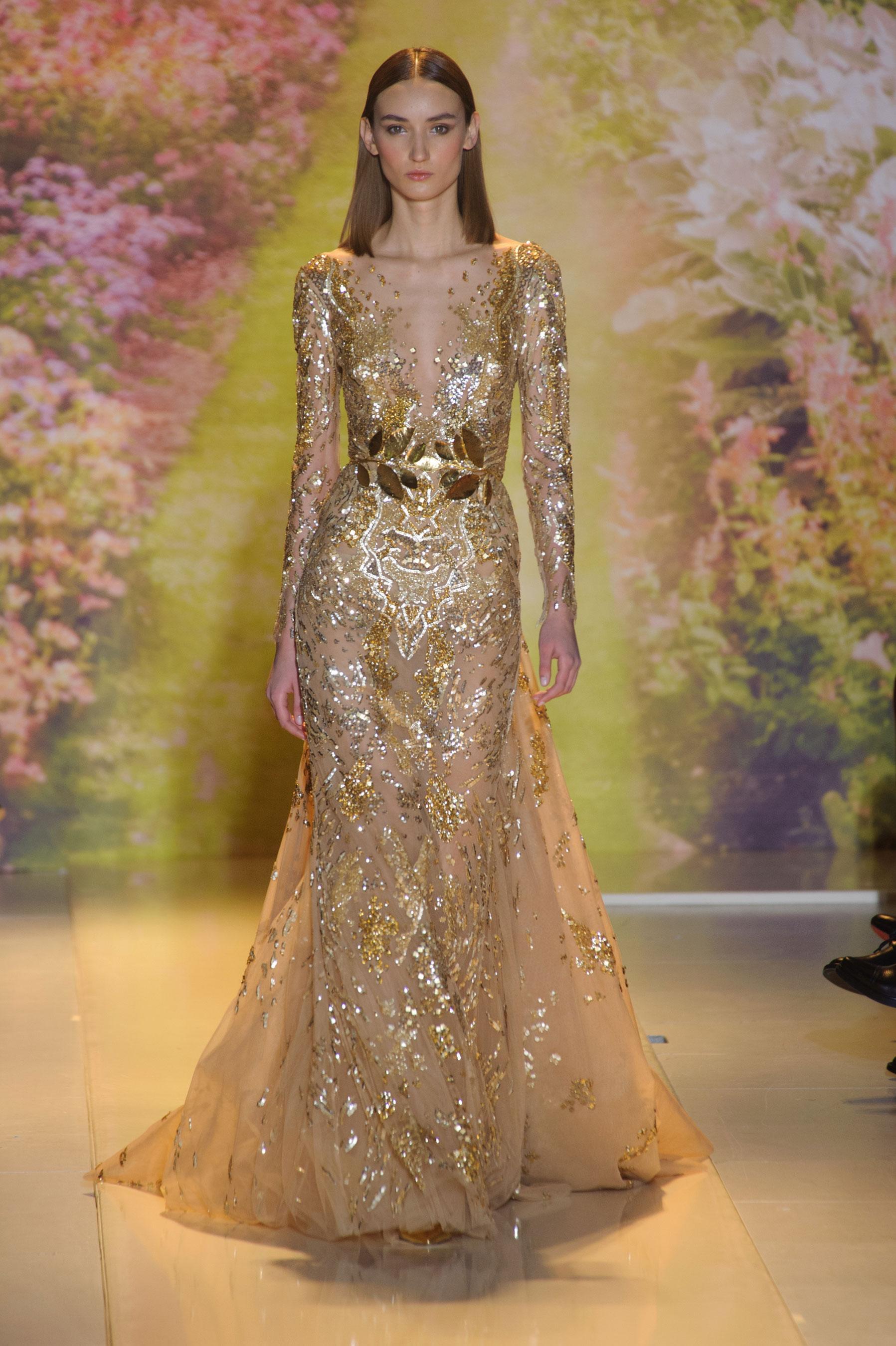 D  233 fil  233  Zuhair Murad  haute couture printemps-  233 t  233  2014  Paris Zuhair Murad Haute Couture 2014