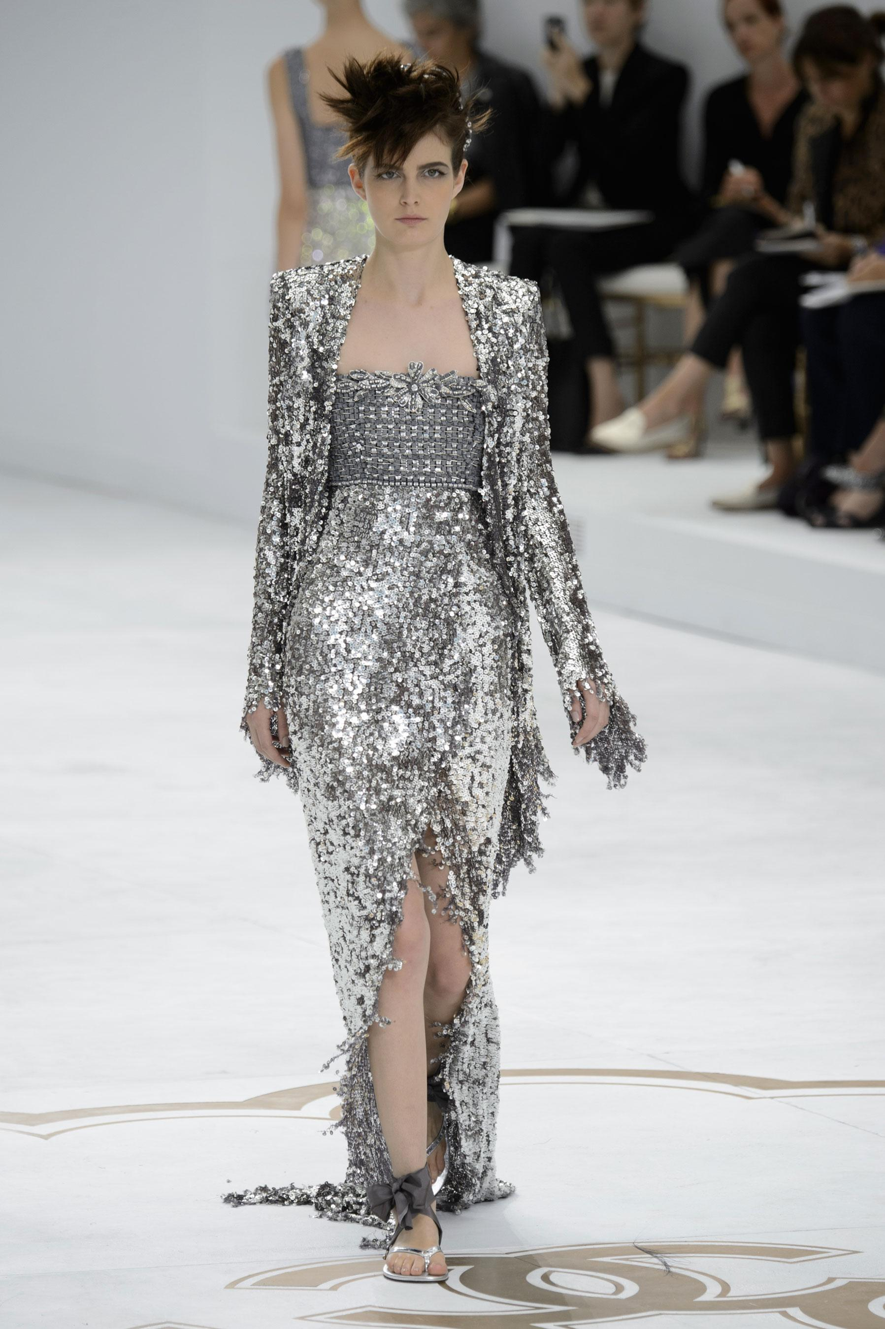 D fil chanel automne hiver 2014 2015 couture madame figaro for 1900 haute couture