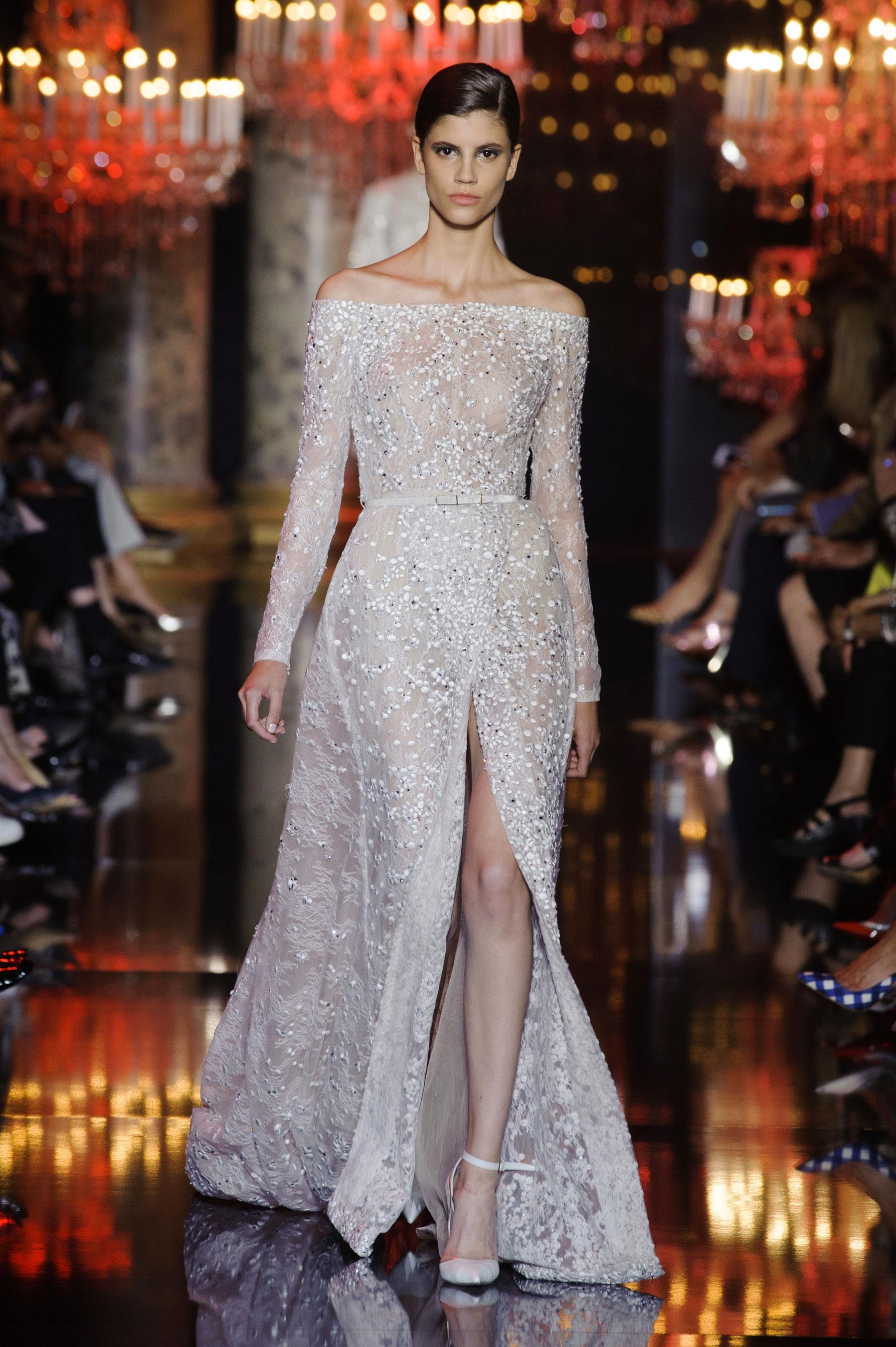 D fil elie saab automne hiver 2014 2015 haute couture for 1900 haute couture