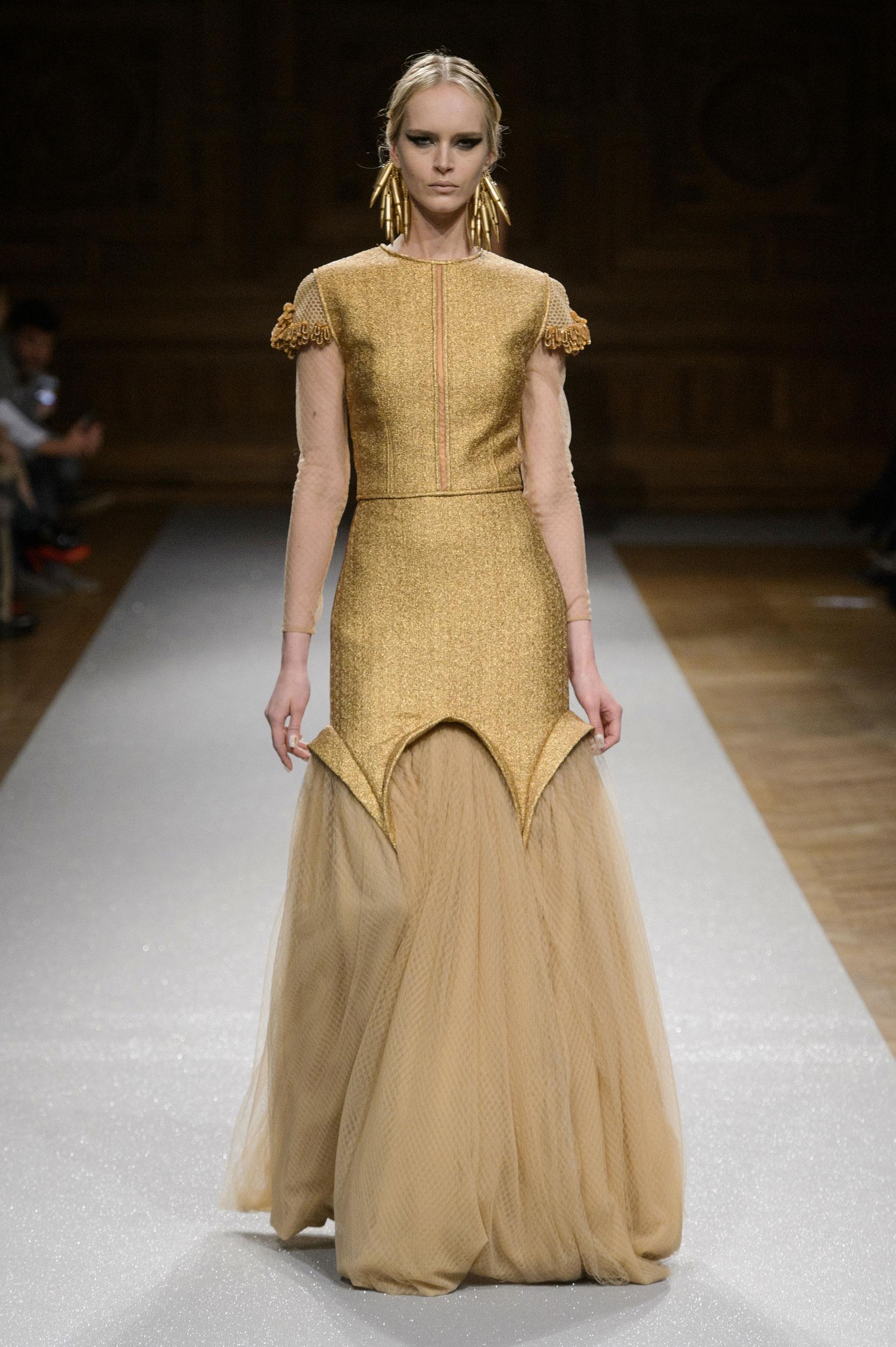 D fil oscar carvallo automne hiver 2014 2015 couture for 1900 haute couture
