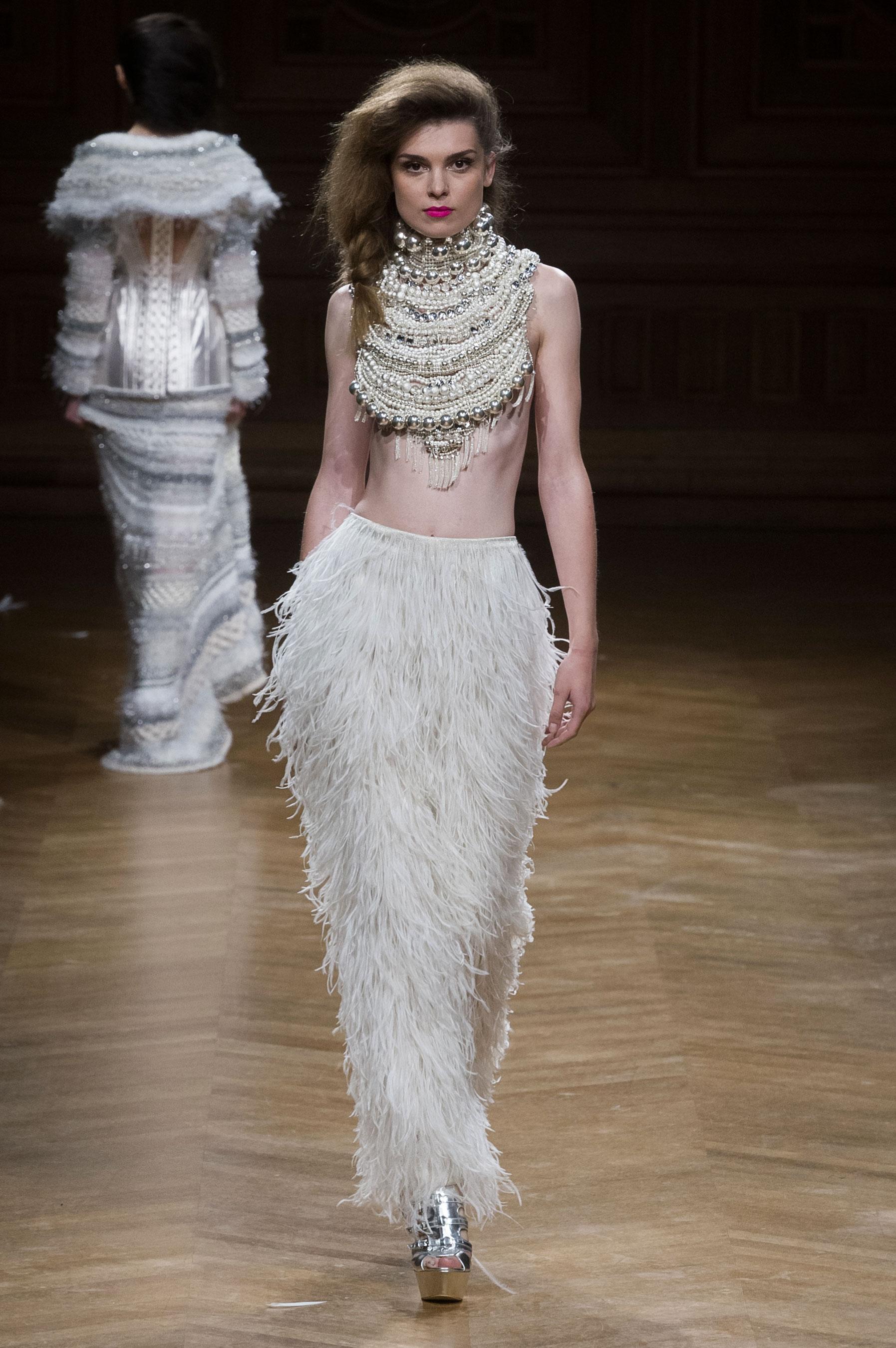 D fil serkan cura automne hiver 2014 2015 couture for 1900 haute couture