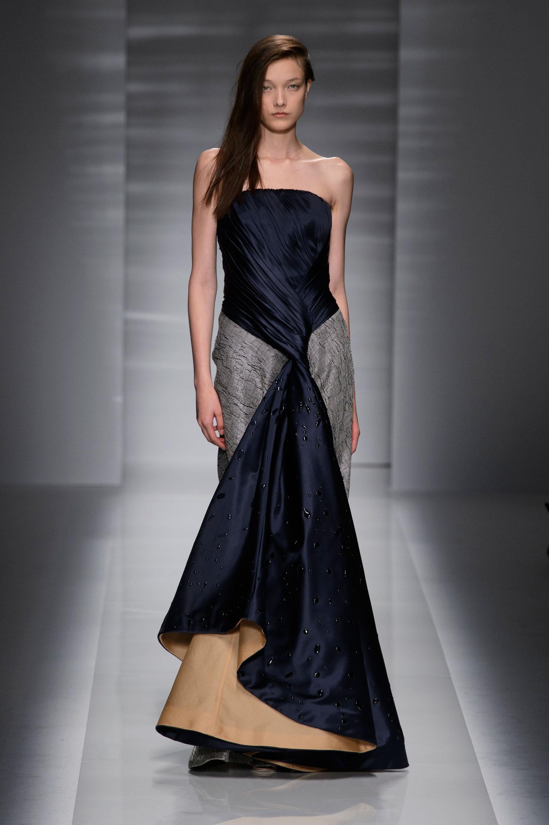 D fil vionnet automne hiver 2014 2015 couture madame figaro for 1900 haute couture