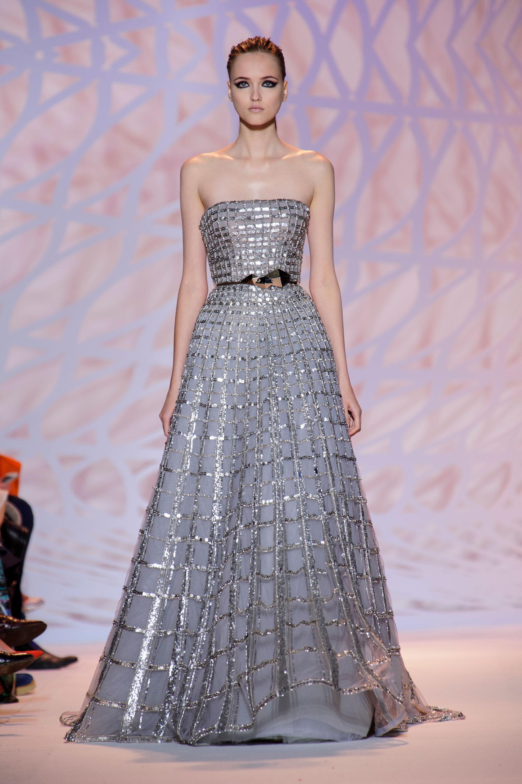 D fil zuhair murad automne hiver 2014 2015 haute couture for 1900 haute couture