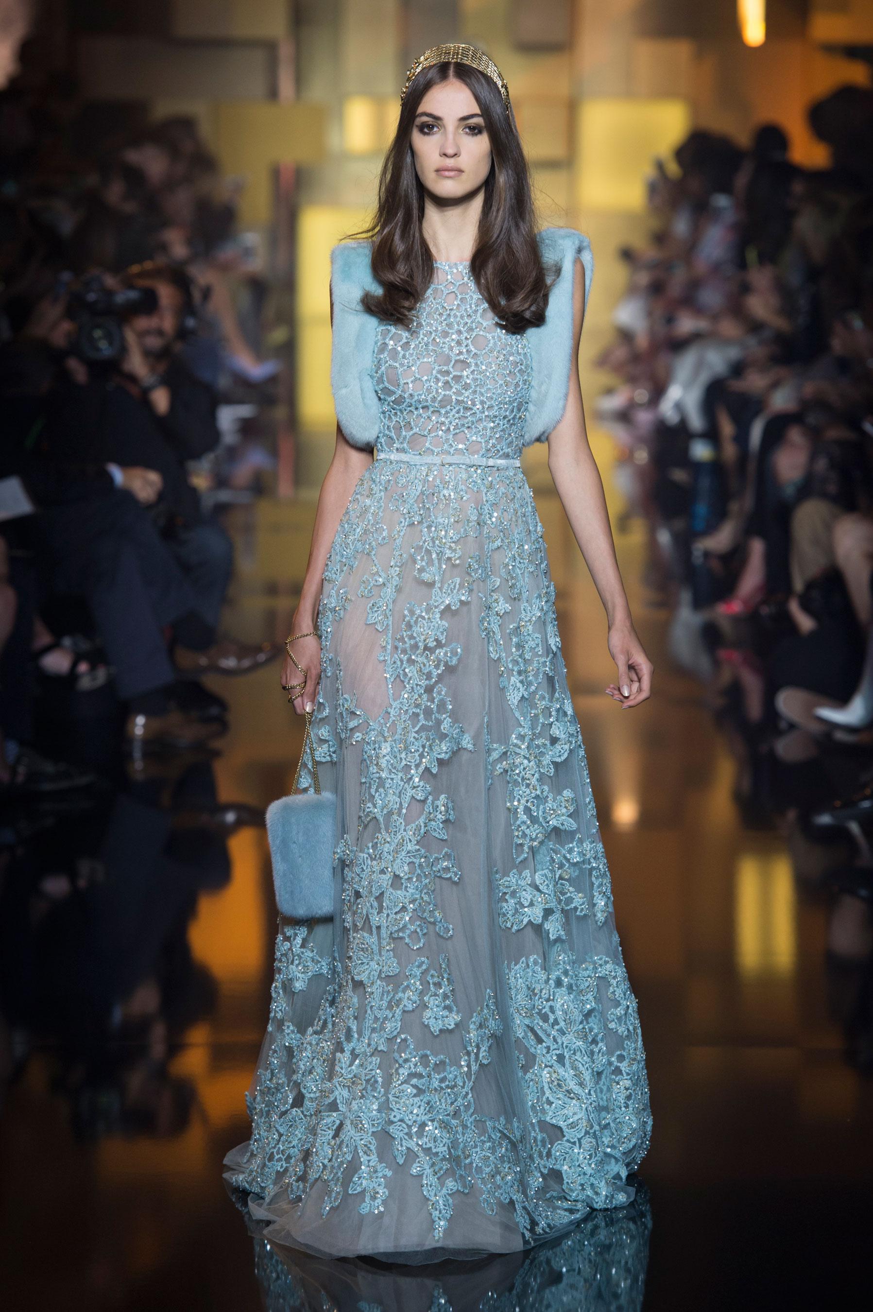D fil elie saab automne hiver 2015 2016 haute couture for Haute couture houses 2016