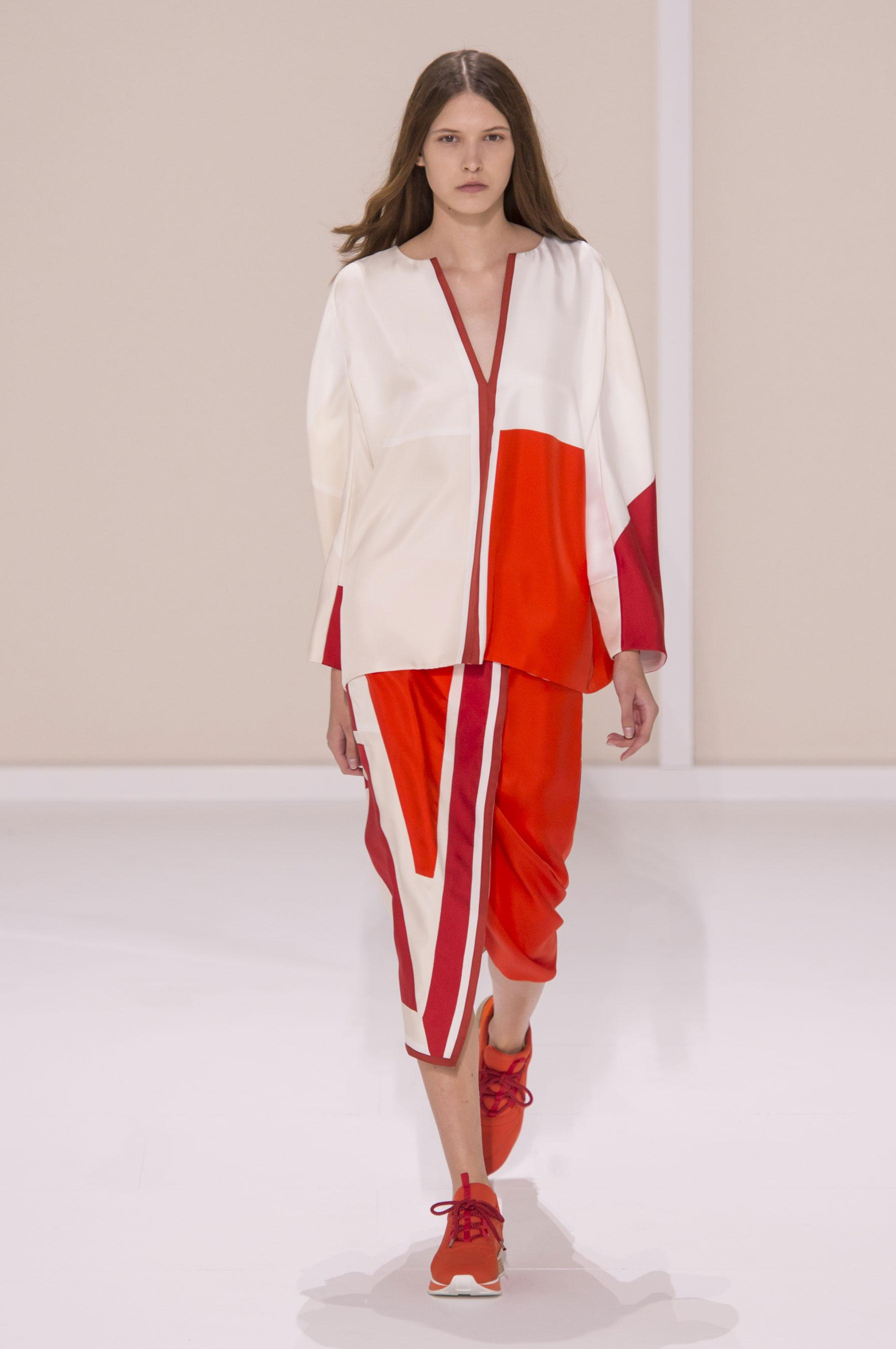 Défilé Hermès Printemps-été 2016 Prêt-à-porter - Madame Figaro