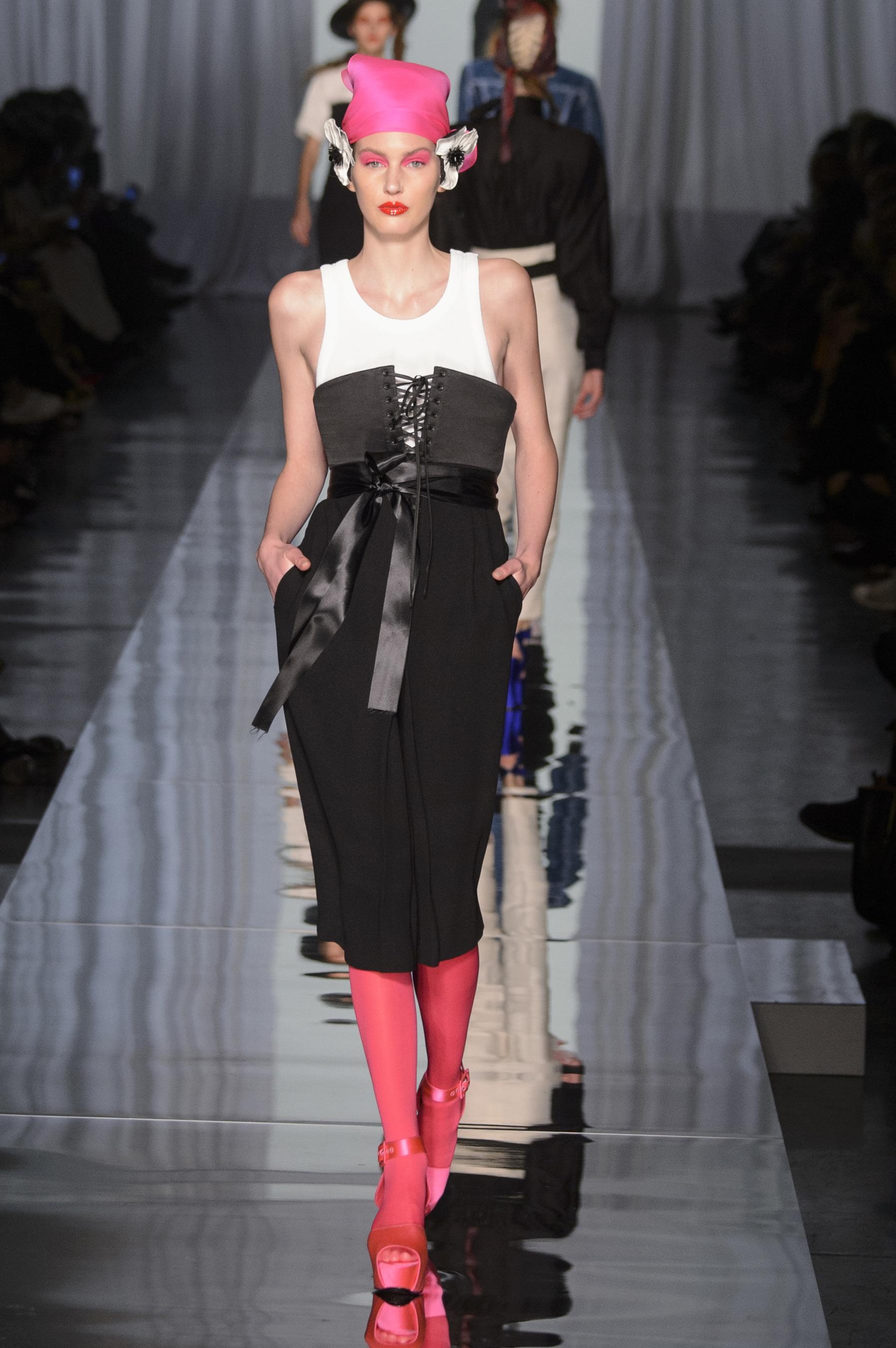 D fil jean paul gaultier printemps t 2017 haute couture le figaro madame - Idee look printemps 2017 ...