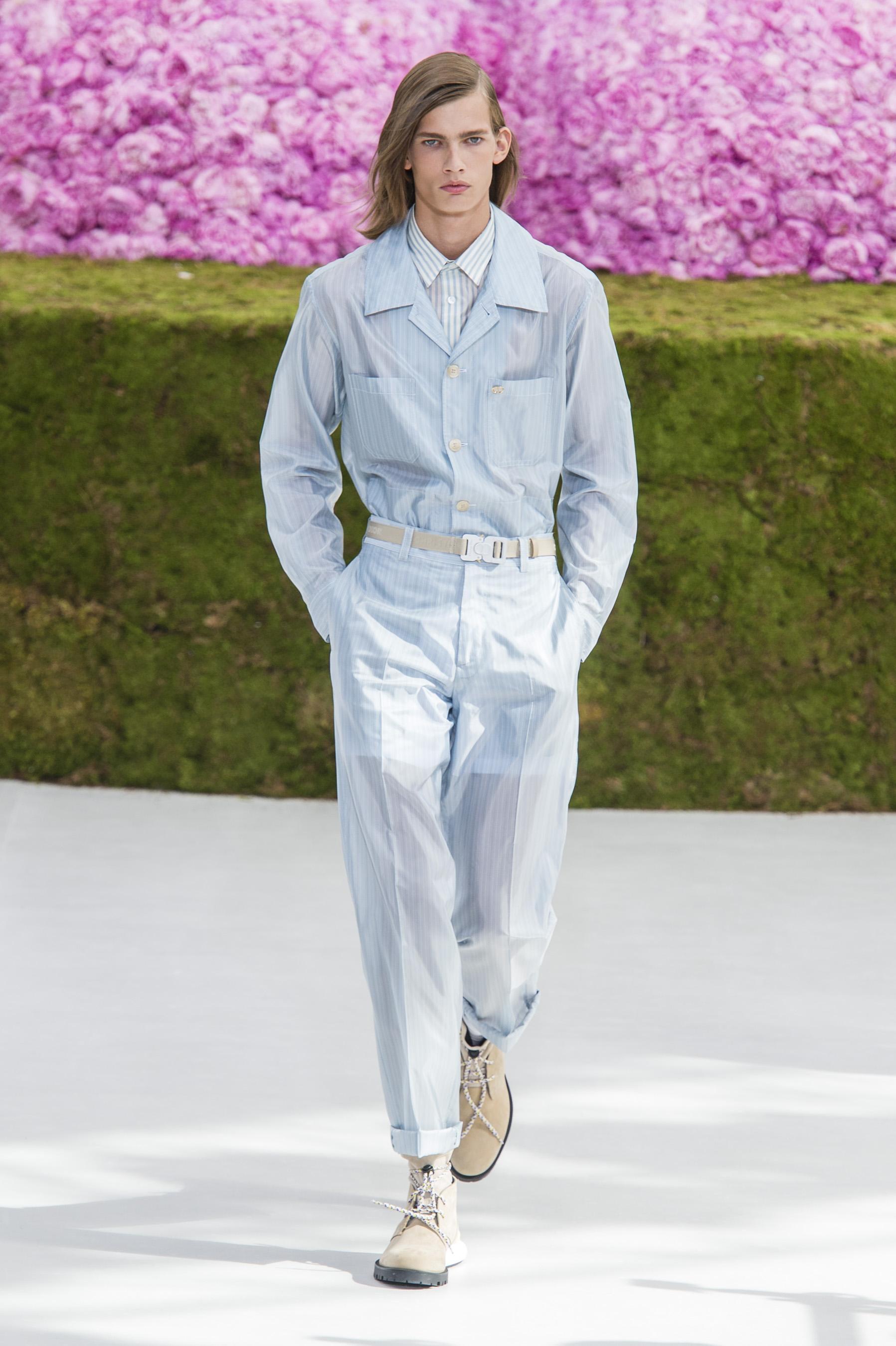 Défilé Dior Homme Printemps été 2019 Homme Madame Figaro