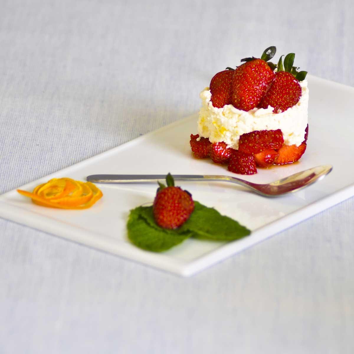 Recette fraises au mascarpone cuisine madame figaro - Cuisine au mascarpone ...