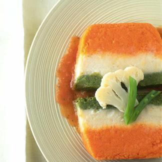 Recette terrine aux trois l gumes cuisine madame figaro - Terrine de legumes facile et rapide ...
