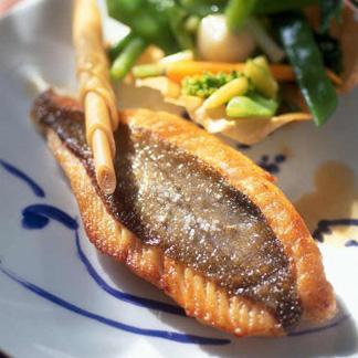 Recette filets de saint pierre la citronnelle cuisine madame figaro - La cuisine de madame saint ange ...