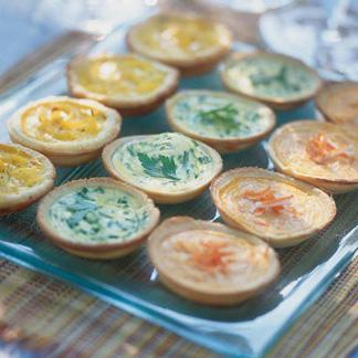 Recette tartelettes au fromage blanc cuisine madame figaro - Recette amuse bouche rapide ...