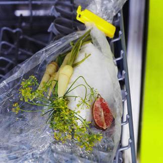 Recette l gine white satin au lave vaisselle cuisine - Cuisiner au lave vaisselle ...
