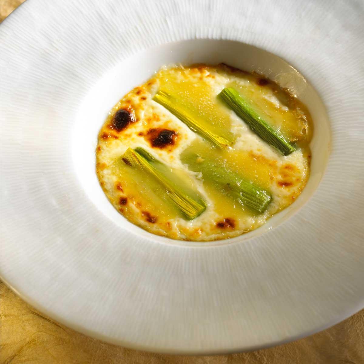 Recette gratin de poireaux au brie de meaux cuisine - Cours de cuisine meaux ...
