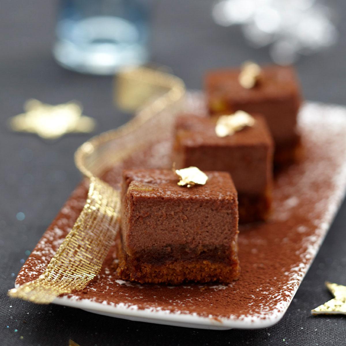 No l dix recettes de desserts au chocolat le figaro madame - Recette de noel dessert ...