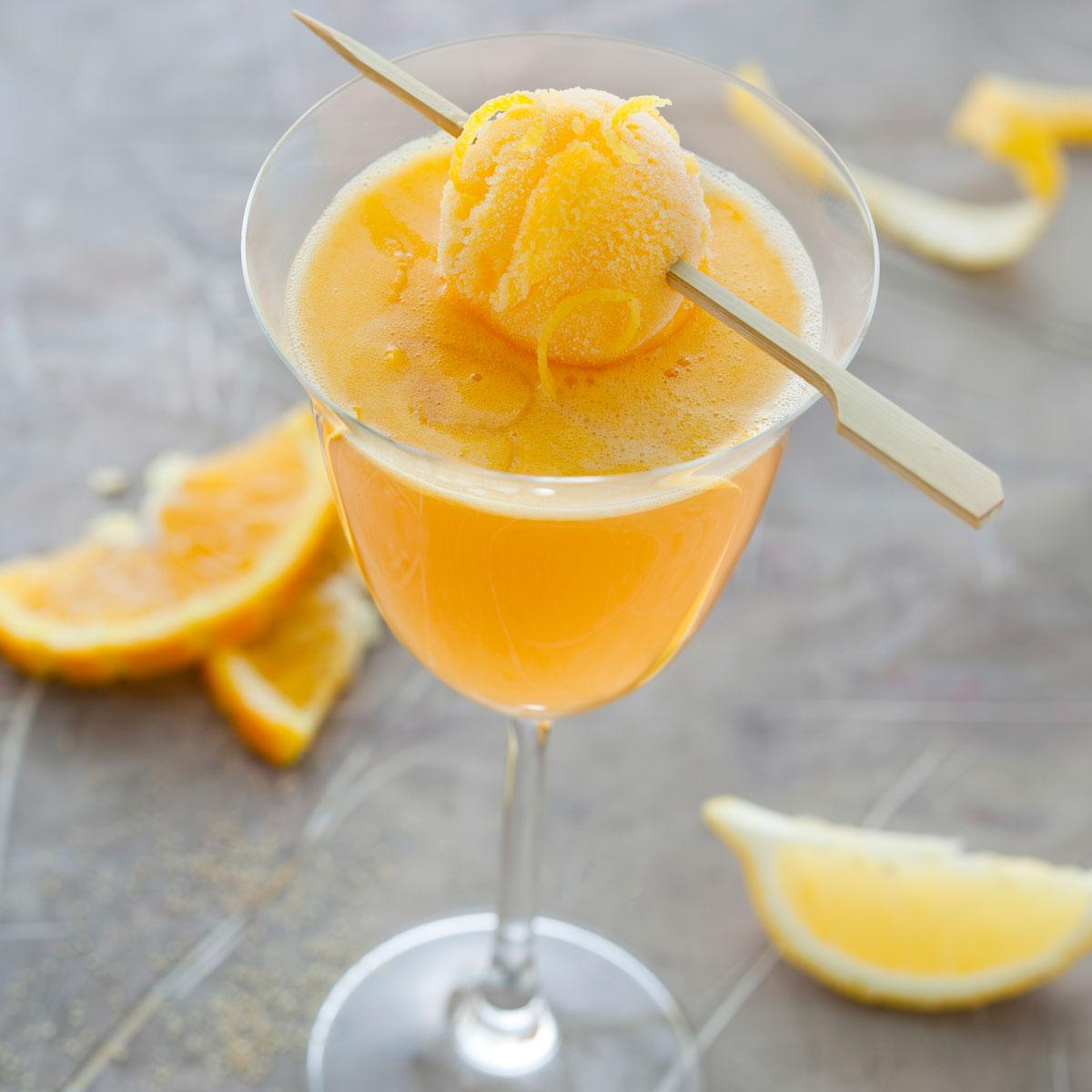 Recette cocktail cidre orange cuisine madame figaro - Cuisine orange ...