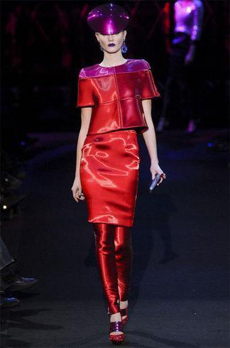 manchette tissu haute couture