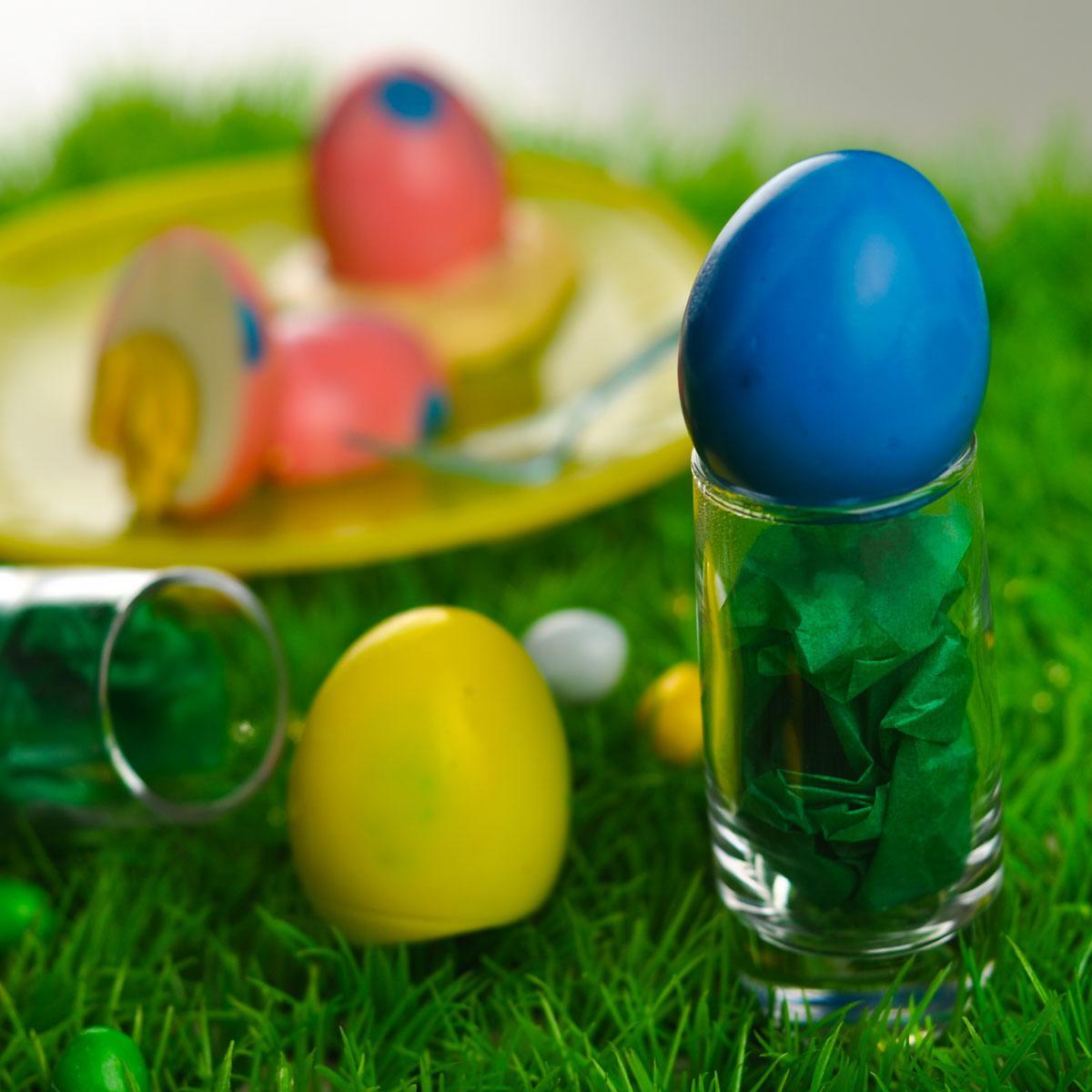 Recette les œufs durs de pâques - Cuisine / Madame Figaro