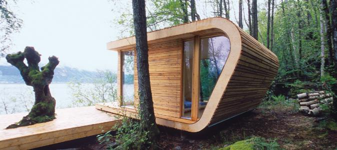Bien dans ma cabane madame figaro for Cabane en bois design