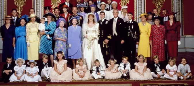 famille royale anglaise