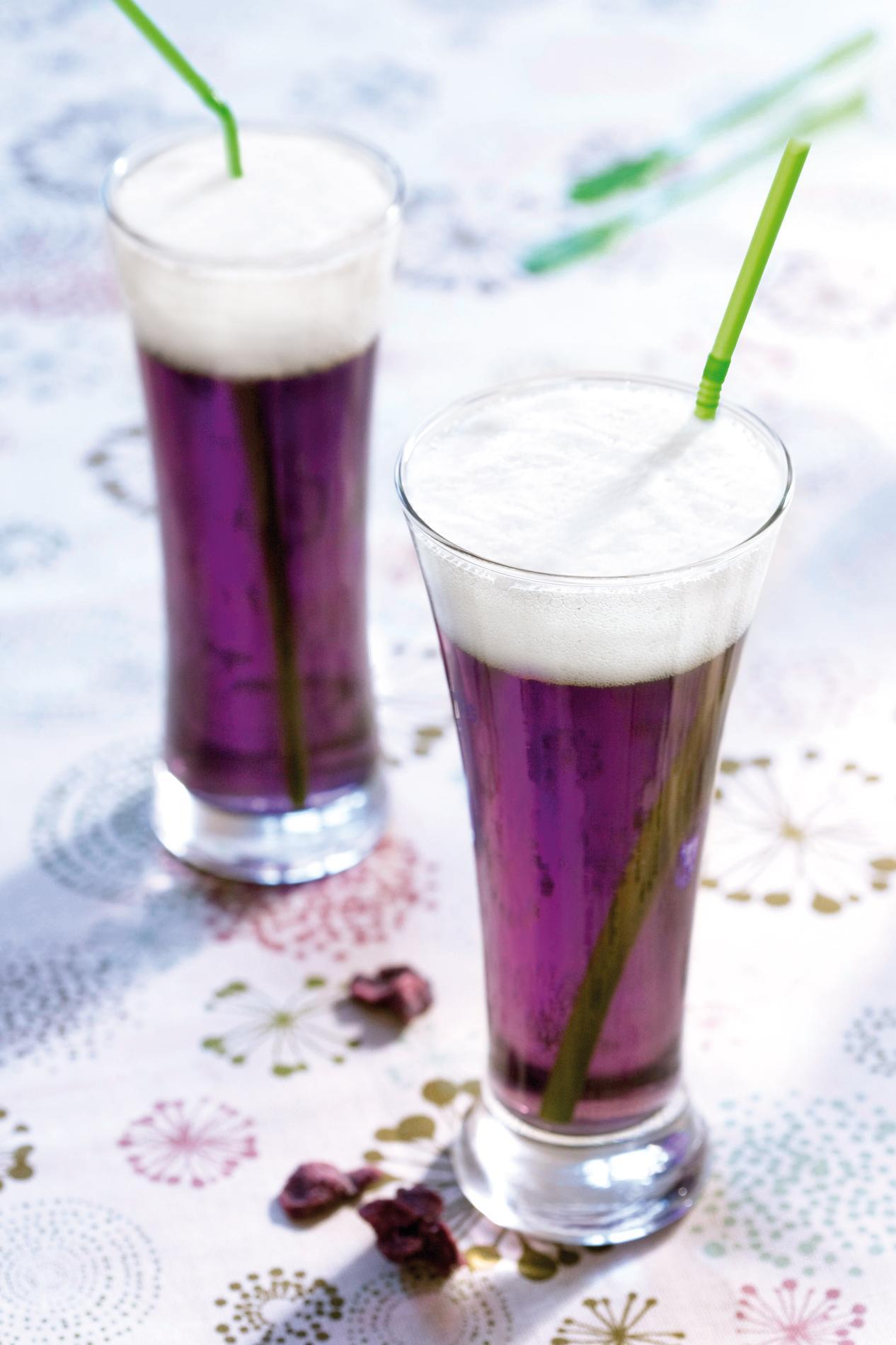 Recette sirops de fleurs et bi re de printemps cuisine - Sirop de violette ...