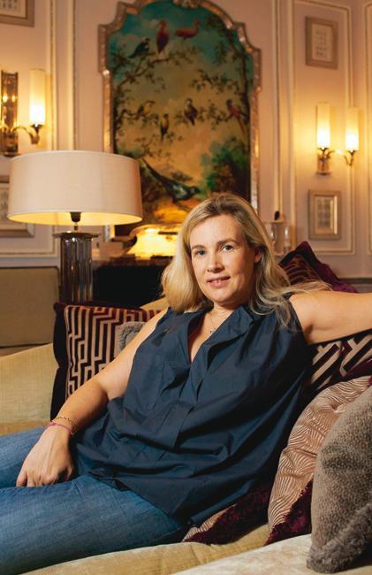 Biarritz dans les pas d h l ne darroze madame figaro - Helene carrere d encausse et son mari ...