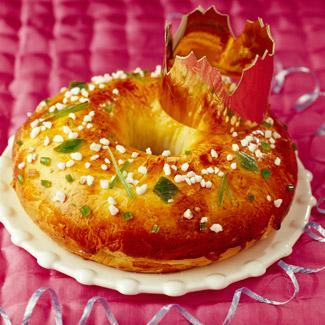 La recette du gâteau des rois bordelais.