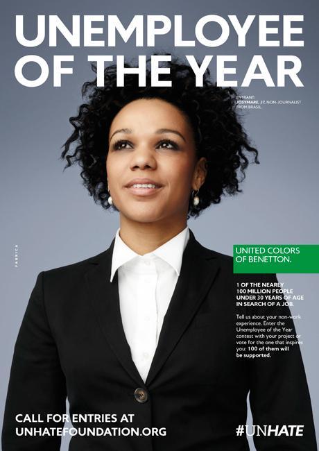 Benetton redore l'image des jeunes sans emploi  Diaporama photo