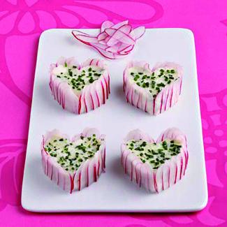 Recette mini charlottes de radis rose cuisine madame figaro - Radis rose de chine ...
