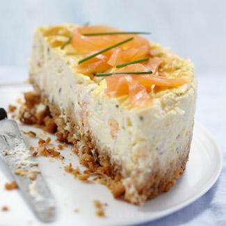 recette cheesecake au saumon fum cuisine madame figaro. Black Bedroom Furniture Sets. Home Design Ideas
