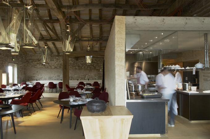Dans les coulisses du colombier chez michel et marie for Cuisine professionnelle restaurant