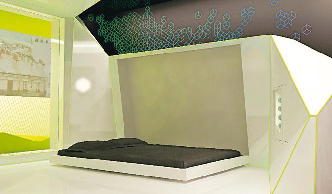 d coration chambre high tech. Black Bedroom Furniture Sets. Home Design Ideas