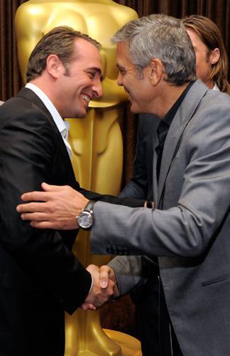 Clooney a vue sur dujardin madame figaro for Dujardin clooney
