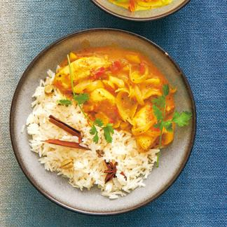 recette poulet l 39 indienne cuisine madame figaro. Black Bedroom Furniture Sets. Home Design Ideas