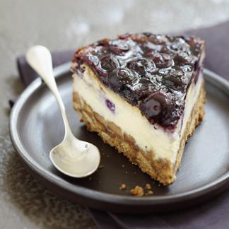 recette cheesecake au chocolat blanc et myrtilles cuisine