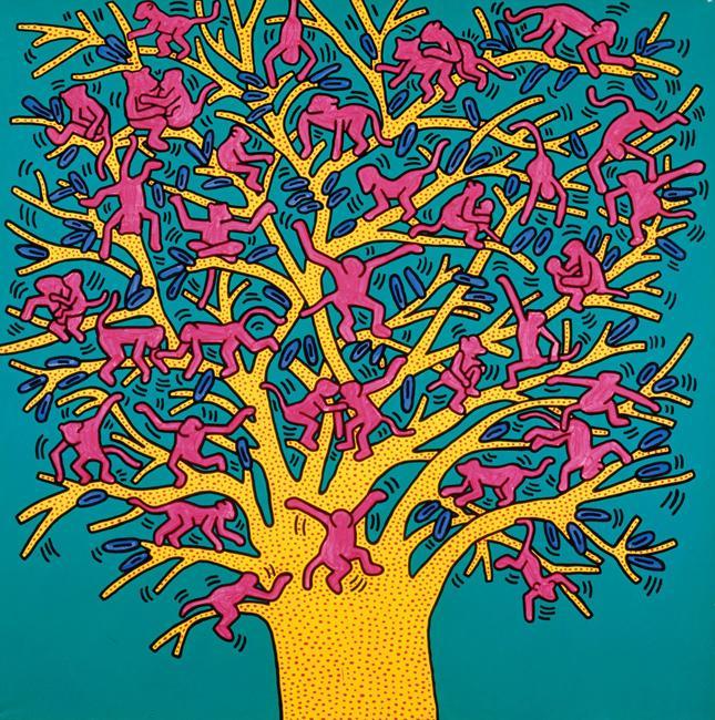 Connu Keith Haring, l'enfance de l'art - Madame Figaro IG21