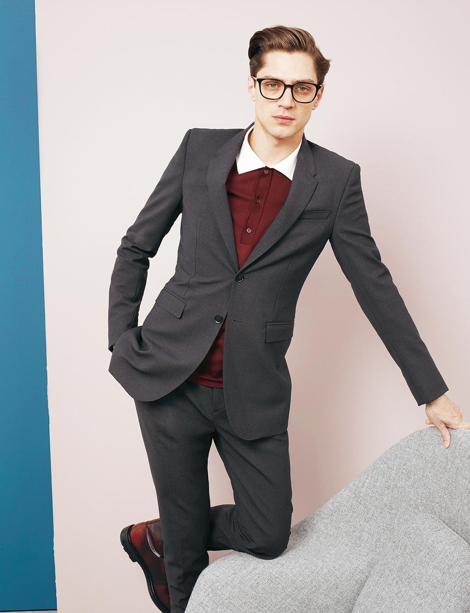 le costume fait son grand retour le figaro madame. Black Bedroom Furniture Sets. Home Design Ideas