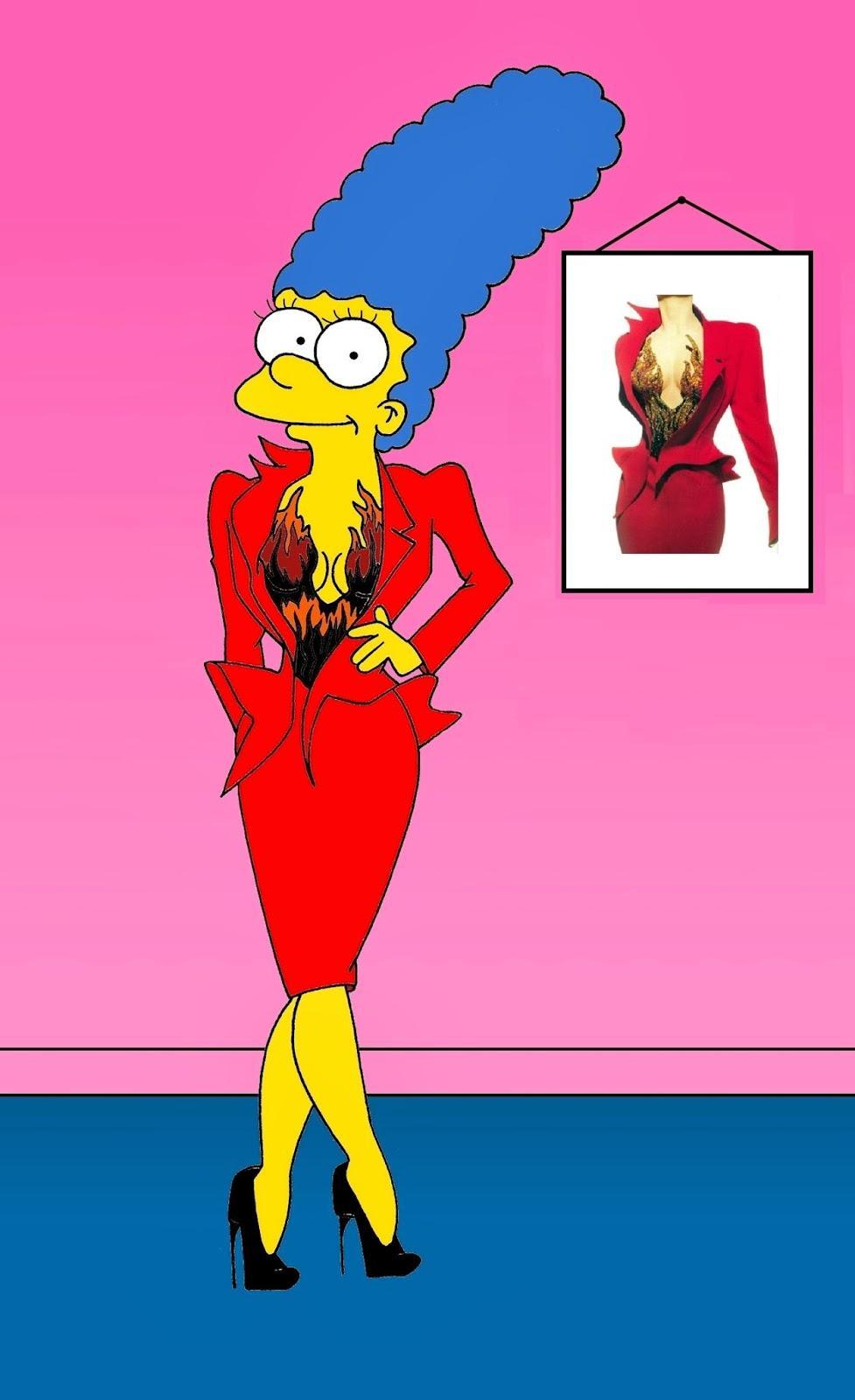 Alessandro Palombo Rhabille Marge Simpson Madame Figaro
