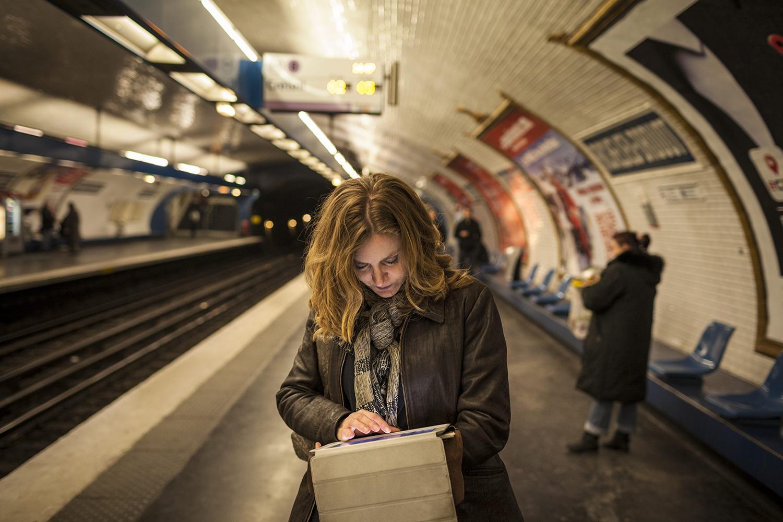Les moments de gr ce de NKM dans le m tro parisien