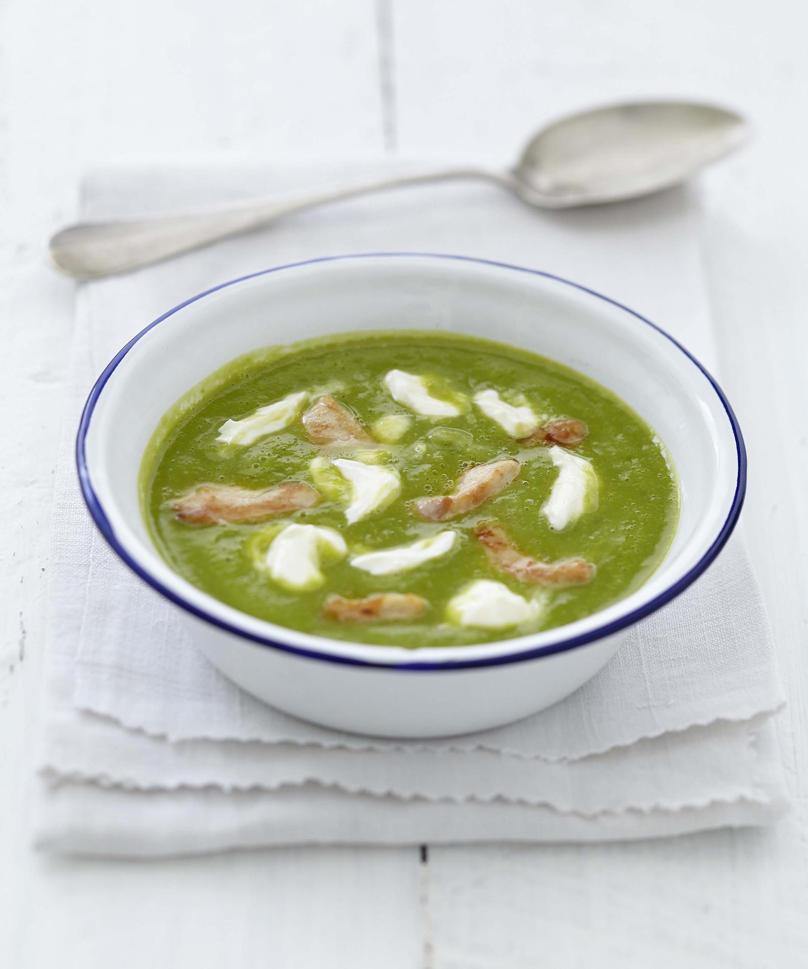 soupe fuille de radis
