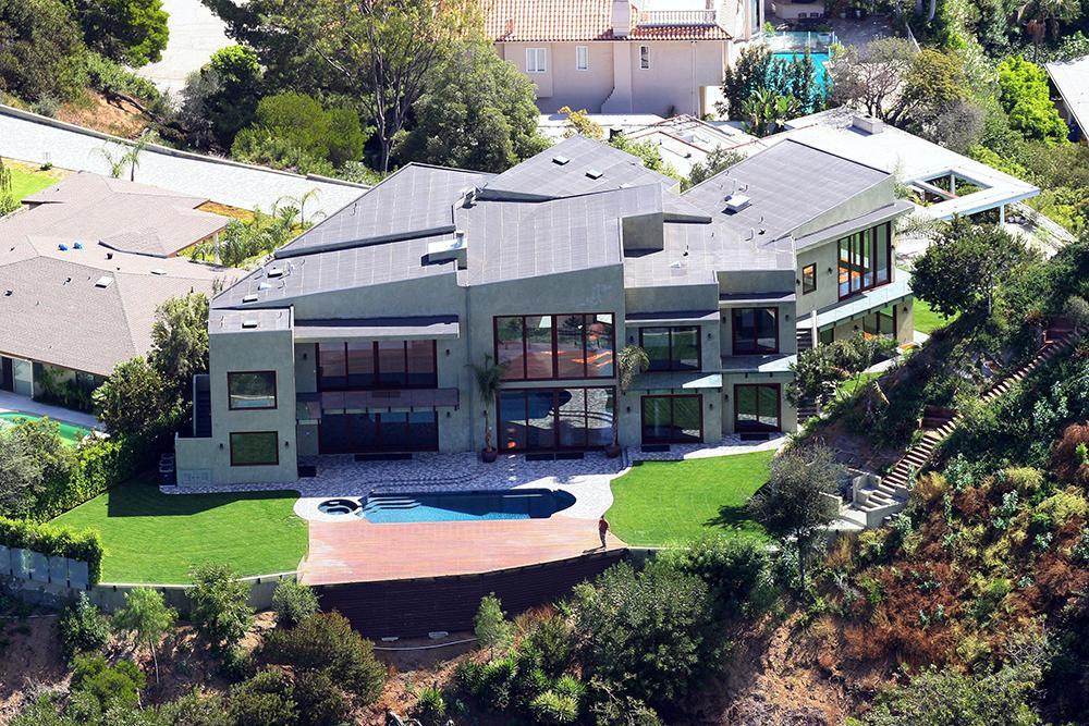 Les plus incroyables maisons de stars le figaro madame for Los angeles maison de star