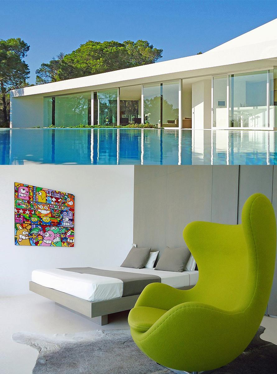 chambre hote design ibiza. Black Bedroom Furniture Sets. Home Design Ideas